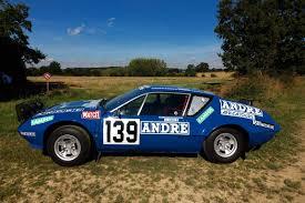 renault alpine a310 rally l u0027unique alpine du rallye paris dakar vendue aux enchères