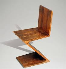 chaise zig zag la chaise zig zag chair by gerrit rietveld on artnet