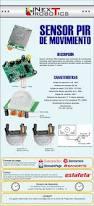 sensor infrarojo de presencia pir detector de movimiento