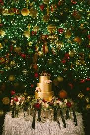 elegant holiday wedding at the atrium at curtis center in