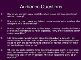 Seeking Negotiation Speak Up Salary Negotiation For In Tech