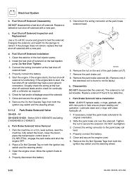 2 park brake solenoid valve park brake solenoid valve jlg g6