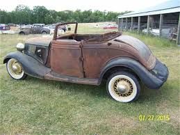 Old Ford Truck Kijiji - 1934 ford cabriolet for sale on classiccars com 10 available