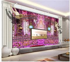online get cheap roman wall murals aliexpress com alibaba group 3d name wallpapers custom 3d wallpaper garden little angel roman column 3d tv backdrop wall mural