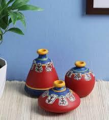 Buy Vases Online Flower Vases Buy Wooden U0026 Metal Flower Glass Vase Online In
