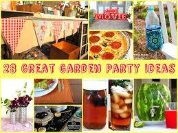 Summer Garden Party Ideas - garden party ideas on a budget the garden inspirations
