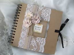 vintage wedding guest book ivory wedding guest book atdisability