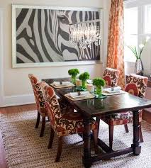 dining room decorating ideas 2013 black and white dining room decorating with zebra prints and