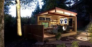 modern shed ideas u2013 elegant home office or a cozy garden retreat
