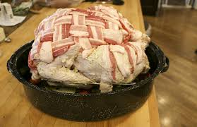 bacon wrapped turkey something new for dinner