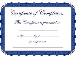 certificates of completion templates google search education