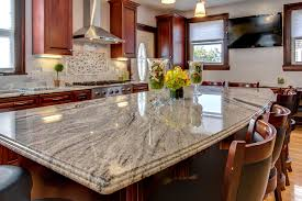what backsplash looks with cherry cabinets viscont white granite countertops with cherry cabinets