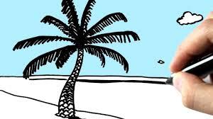 comment dessiner une plage youtube