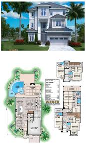 beach house layout 11 best tropical house plans images on pinterest beach house