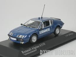 renault alpine renault alpine a310 a 310 police france 1976 1 43 minichamps