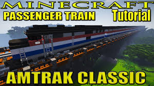 Amtrak Interactive Map by Minecraft Train Tutorial Classic Amtrak Passenger Train Emd