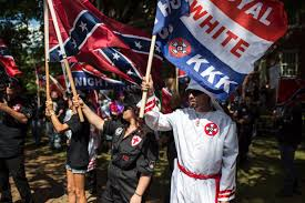 kkk rally met with counterprotesters cnn video