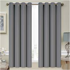 mellanni thermal insulated blackout curtains 2 panels window