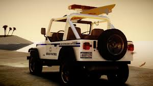 jeep wrangler beach beach patrol skin for corleone s 1988 jeep wrangler vehicle