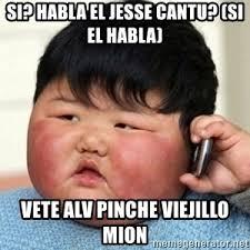 Kid On Phone Meme - fat asian kid with phone meme generator