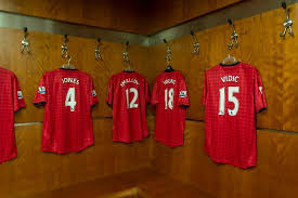 Dressing Room Pictures Manchester United Dressing Room Picture Of Old Trafford