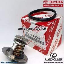 lexus rx300 coolant type genuine oem toyota lexus coolant thermostat u0026 gasket 90916 03093
