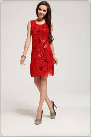 ideas to don red color designer dresses in parties for