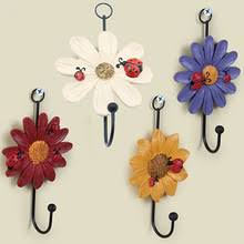Home Decoratives Compare Prices On Flower Wall Hooks Online Shopping Buy Low Price