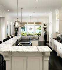 u shaped kitchen layouts with island kitchen layouts with island and peninsula medium size of l shape