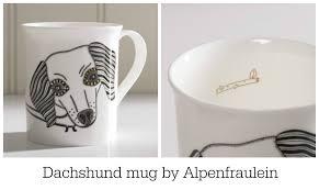 fresh design finds delightful dog mugs by alpenfraulein fresh
