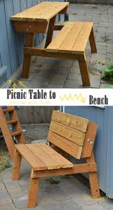 Patio Furniture Using Pallets by Best 20 Picnic Tables Ideas On Pinterest Diy Picnic Table