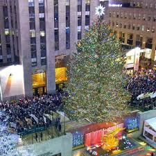 2016 rockefeller center tree lighting at rockefeller