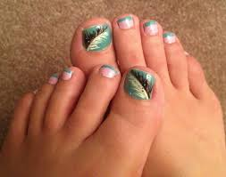 nail art cute toe nails easy fall spring 2015toe easter simple
