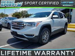 used lexus for sale orlando used 2017 gmc acadia slt 1 in orlando fl for sale near st cloud
