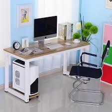 Desk For Desktop Computer by Simple Desktop Computer Desk Book A Table Home Minimalist Double