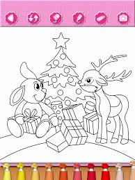 christmas coloring book kids holiday games apps 148apps