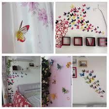 12pcs 3d butterfly brooch wall sticker home room curtain wedding 12pcs 3d butterfly brooch wall sticker home room curtain wedding decoration