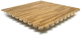 oak floor tiles for trade booths and conventions