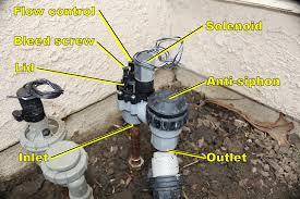 rainbird anti siphon valve leaks won u0027t fully close