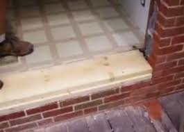 Patio Door Sill Pan Fascinating Sliding Patio Door Threshold Replacement Pictures