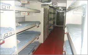 Rx Project HOPE May - Navy bunk beds
