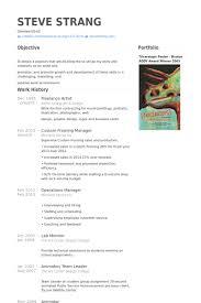 artist resume template sle artist resume artist resume template freelance artist resume