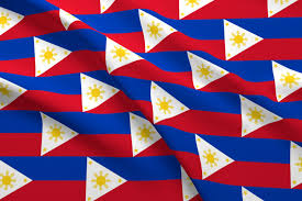 Philippines Flag Philippines Flag Fabric Flagfabric Spoonflower