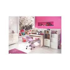 ensemble chambre enfant ensemble chambre enfant lit mi hauteur bureau rangements blanc