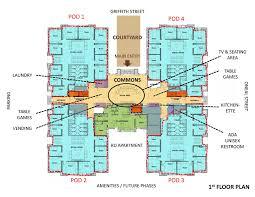Dorm Floor Plans by Living Limestone North U0026 South Carolina Limestone College