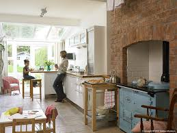 all categories style it enchanting newly built edwardianstyle kathy reid her daughter in the kitchen of their edwardian semi edwardian house interiors