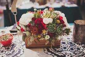 centerpiece wooden box flowers wedding google search wedding