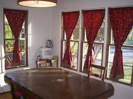 Red Kitchen Curtains And Valances by Red Gingham Kitchen Curtains Red Kitchen Curtains With