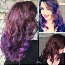 light brown hair dye for dark hair 50 purple ombre hair ideas worth checking out hair motive hair motive