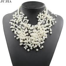 aliexpress pearl necklace images Buy 2018 elegant new z design imitation pearl jpg